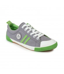Vostro Light Grey Green Casual Shoes for Men - VCS0125